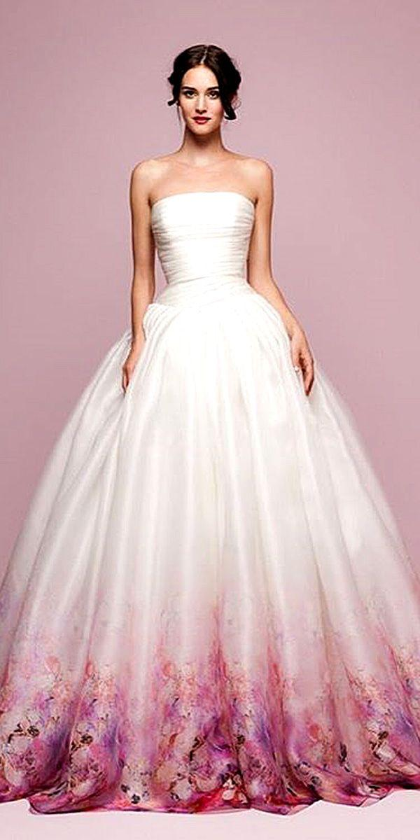 Mariage - 18 Various Ball Gown Wedding Dresses For Amazing Look