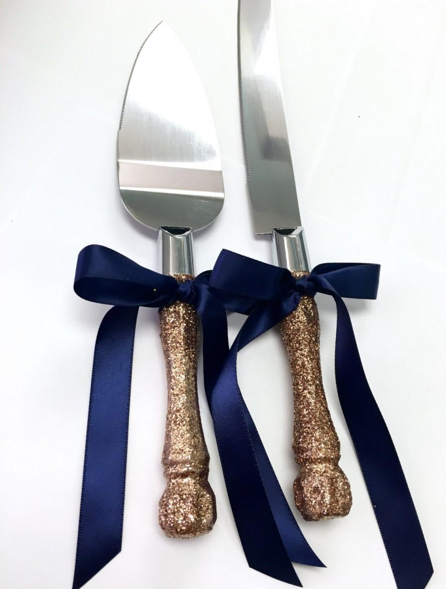 How To Decorate Cake Knife And Server