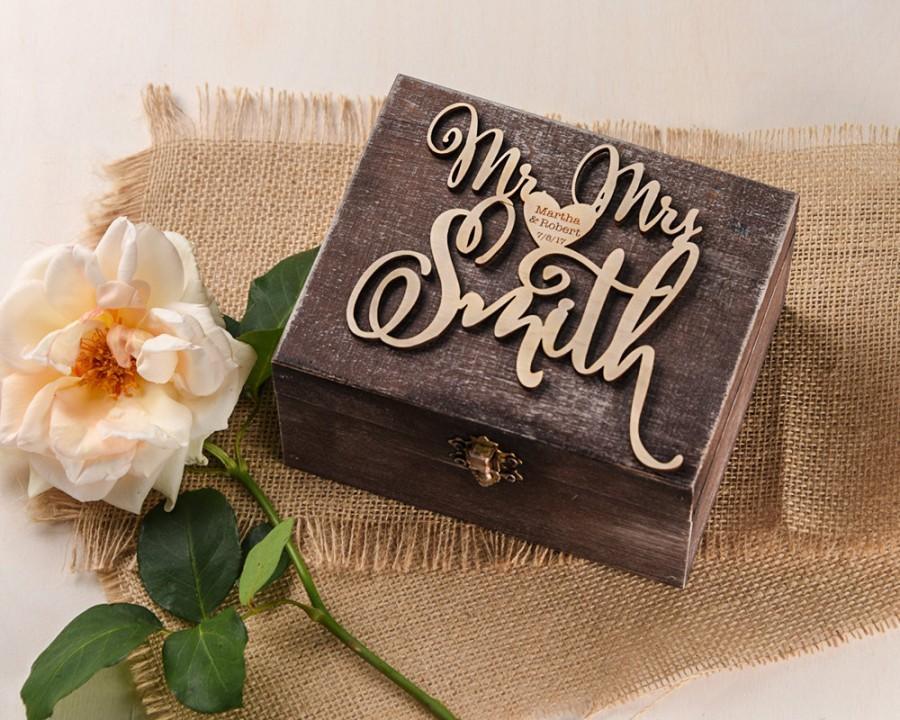Hochzeit - Rustic Wedding Ring Box, Signage Brich Bark Box, Engraved Wood Wedding Box, Wodden Ring Box, Custom Wedding Ring Holder Wood Ring Bearer