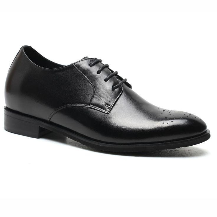 Свадьба - 2016 Chamaripa Oxford Height Increasing Shoes Black Wedding Shoes