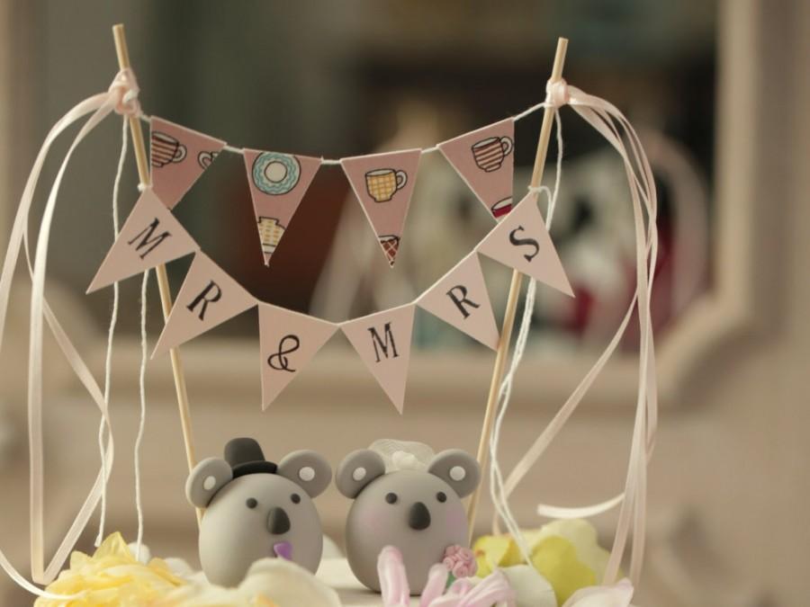 Nozze - Koala wedding cake topper