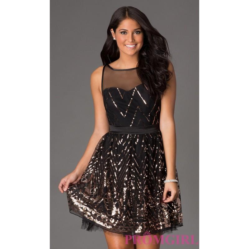 Short Sequin Prom Dresses 67