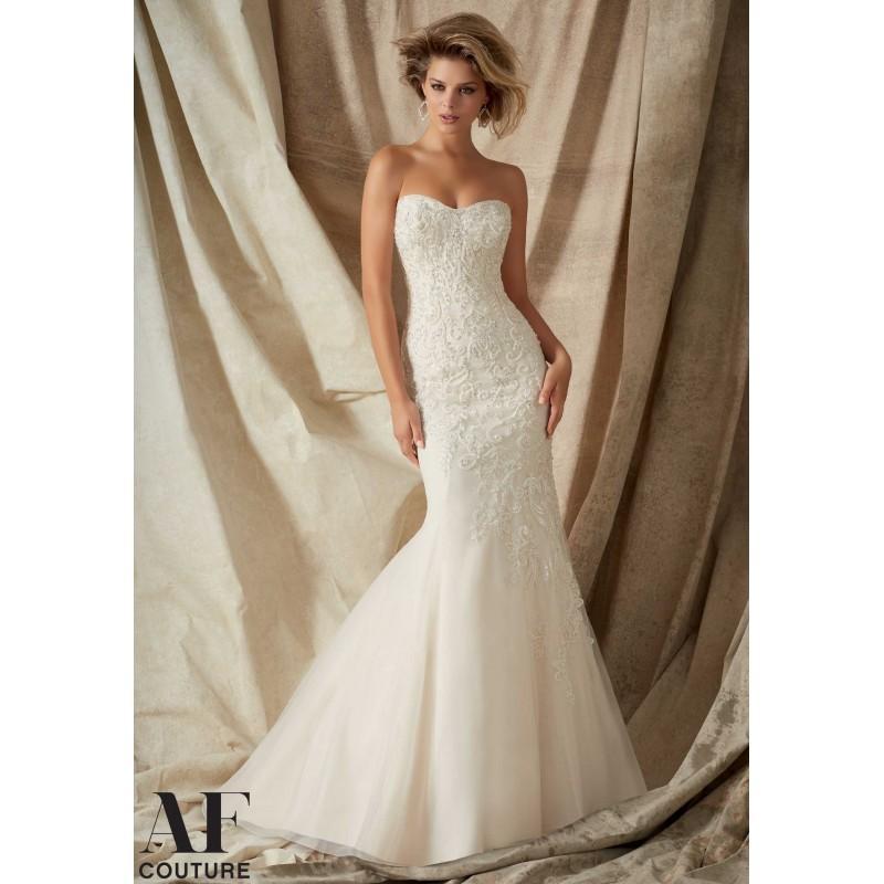 Hochzeit - Angelina Faccenda - Style 1322 - Junoesque Wedding Dresses