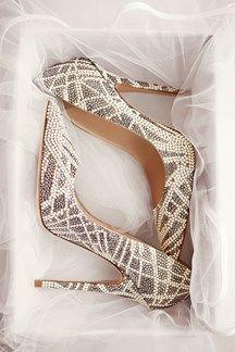 Mariage - Jimmy Choo Wedding Shoes – Bridal 2016 Collection (BridesMagazine.co.uk)