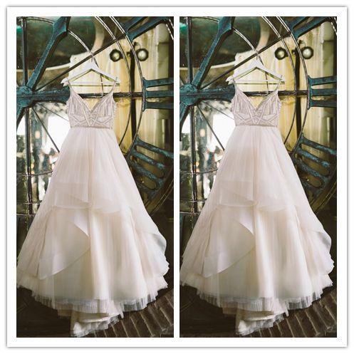 زفاف - New Arrival Elegant Princess White Romantic Wedding Dresses