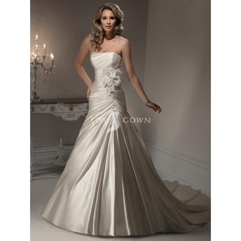 Kleid festlich satin