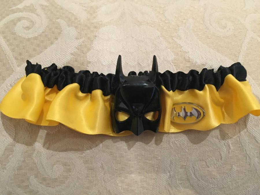 Hochzeit - Batman garter