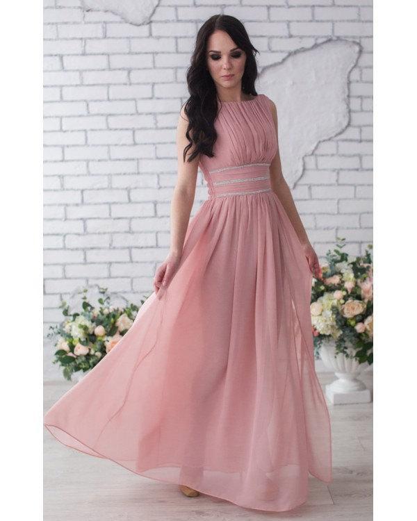 2016 Blush Bridesmaid Dresspink Long Prom Dresspink Wedding Dress