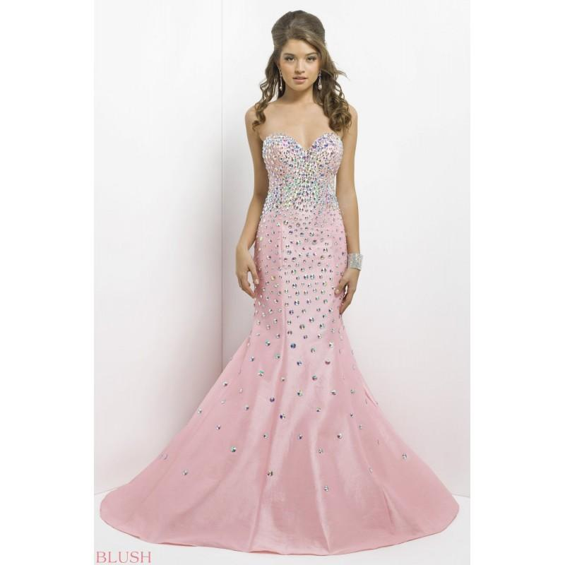 Mariage - Blush Prom Dress / Style 9703 - 2016 Spring Trends Dresses