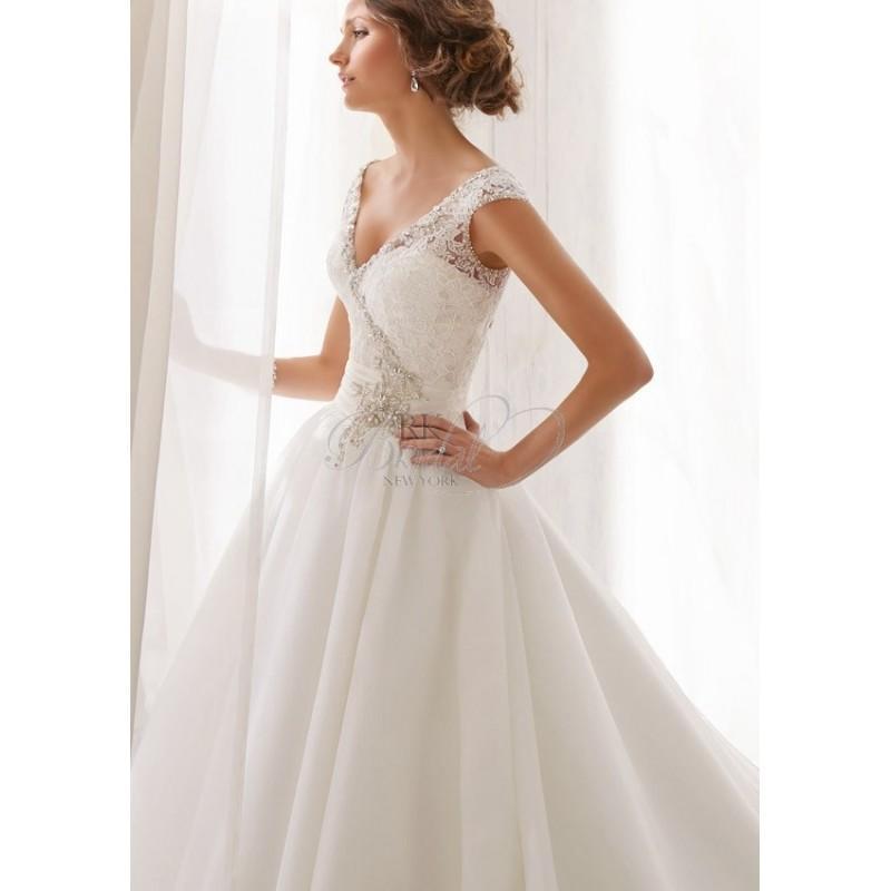 Wedding - Mori Lee Blu Collection Spring  2014 - Style 5202 - Elegant Wedding Dresses