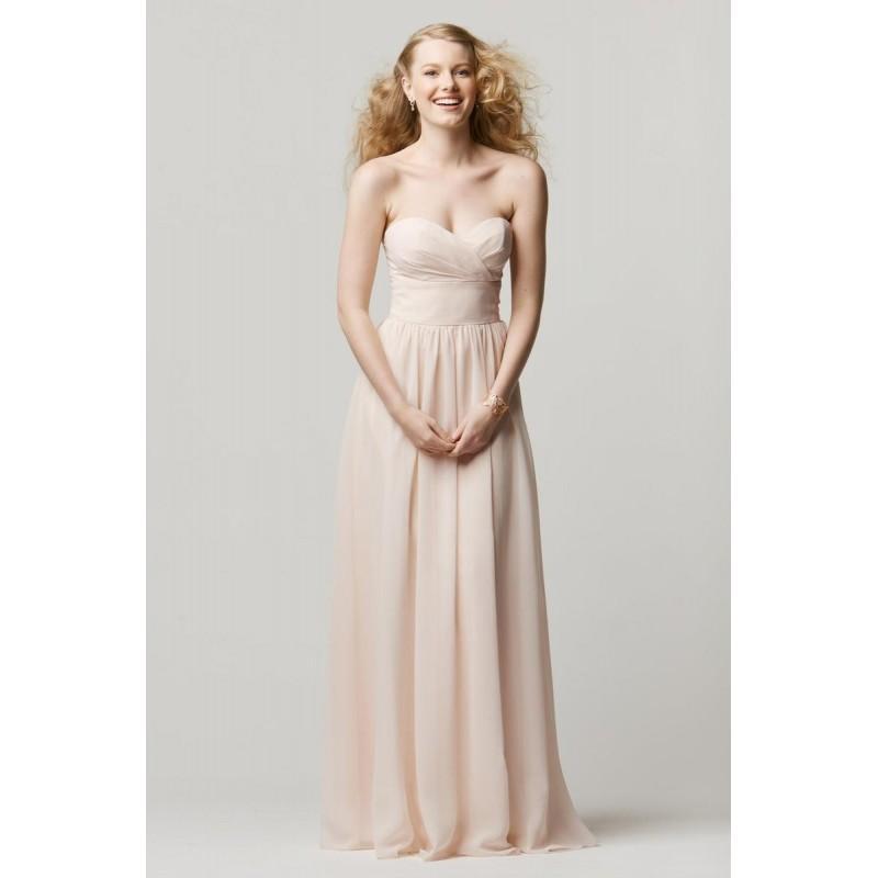 Wedding - Wtoo 601 Crystal Chiffon Bridesmaid Gown - Brand Prom Dresses