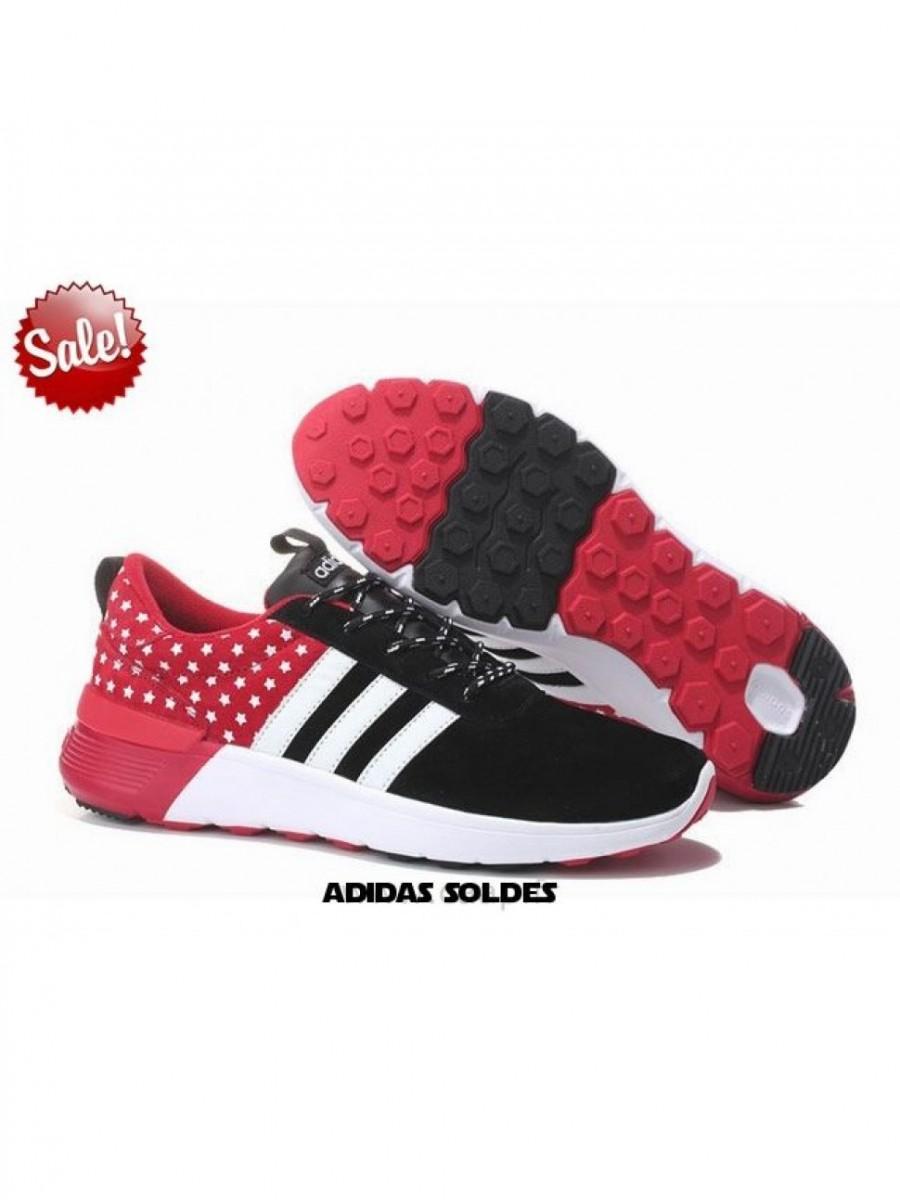 7ee3d80d548f5 Retrouvez Adidas Neo 2 Noir / Blanc / Vin Rouge Baskets à La Mode - adidas Pas  Cher