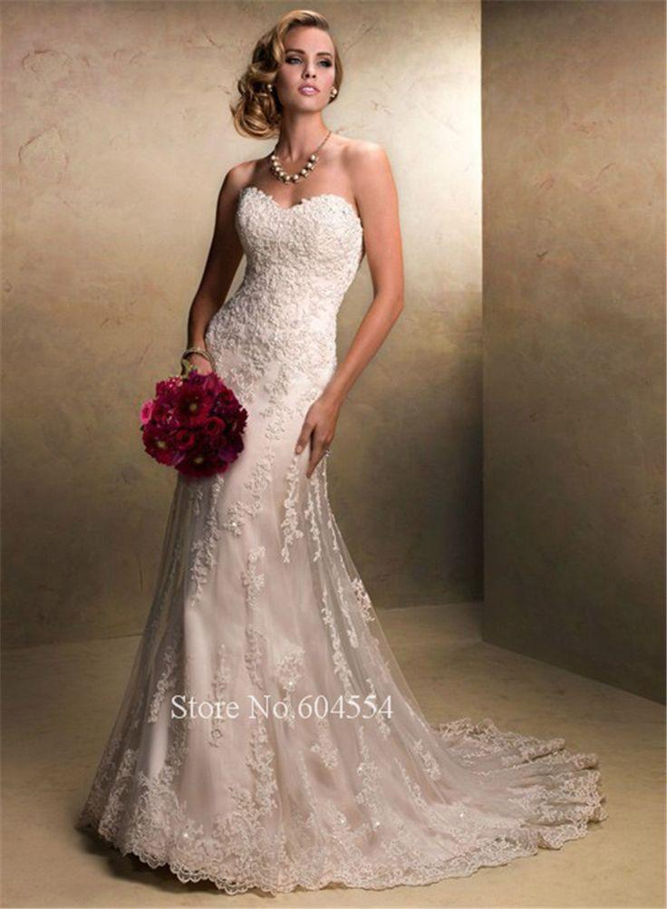 Mariage - Vintage Wedding Dress ,White/Ivory Dress