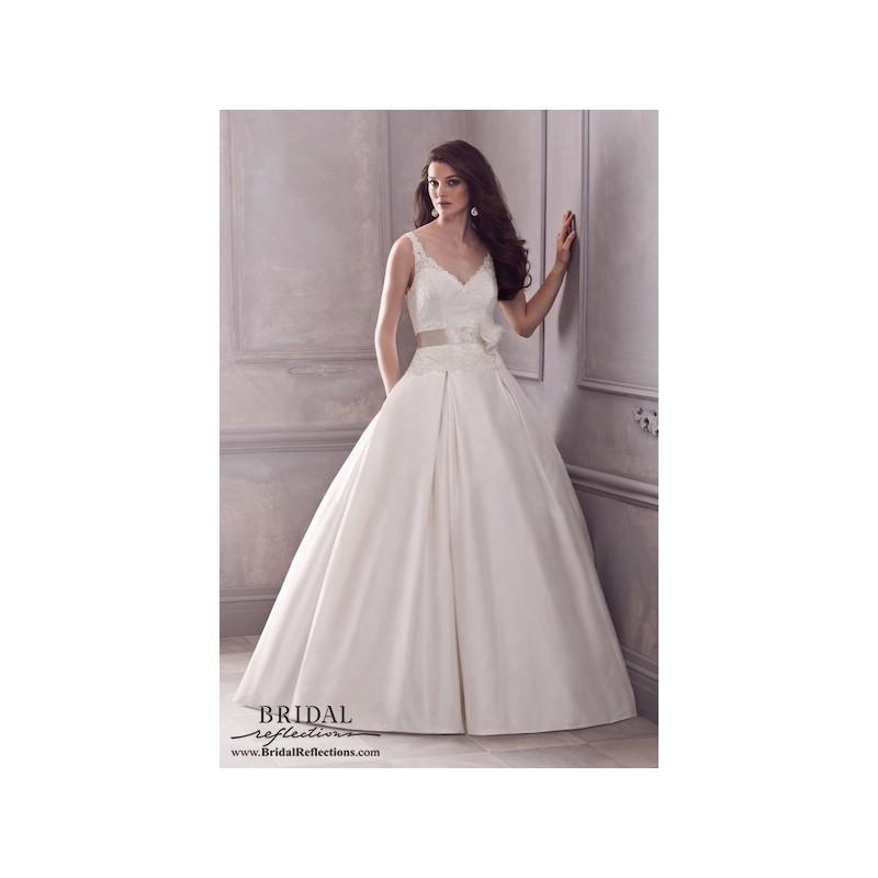 Hochzeit - Paloma Blanca 4400 - Burgundy Evening Dresses