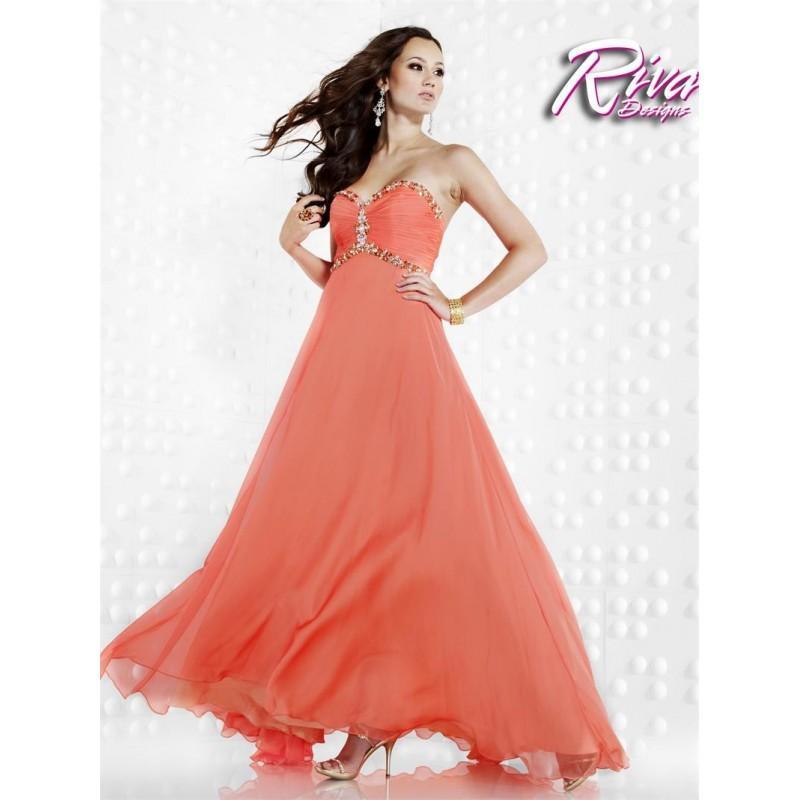 Riva Designs R9462 Dress - Brand Prom Dresses #2594176 - Weddbook