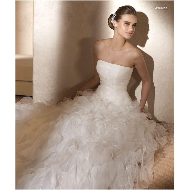 Hochzeit - Pronovias Avenida Bridal Gown (2011) (PR11_AvenidaBG) - Crazy Sale Formal Dresses