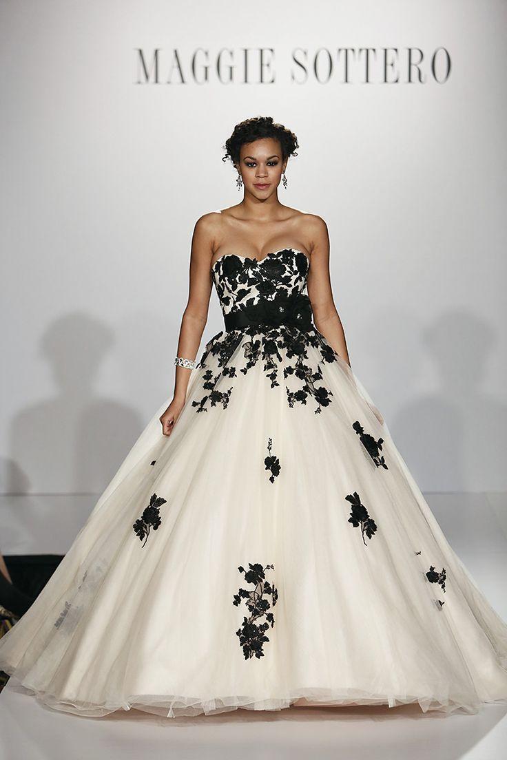 Свадьба - 20 Beautiful (and Bold!) Black Wedding Dresses