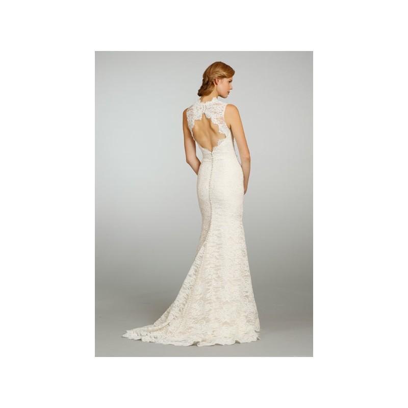 Свадьба - Jim Hjelm 8312 Back - Burgundy Evening Dresses