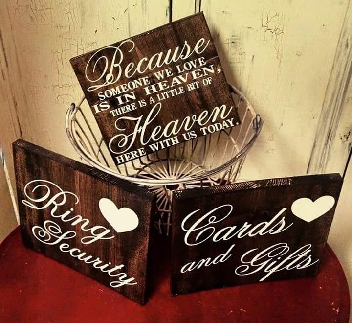 Свадьба - Wedding Day Sign Bundle