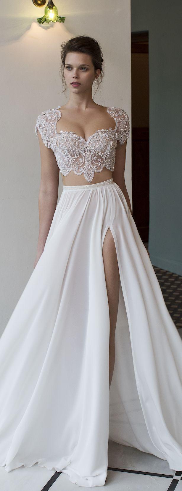 Hochzeit - Bridal Trends: Two- Piece Wedding Dresses