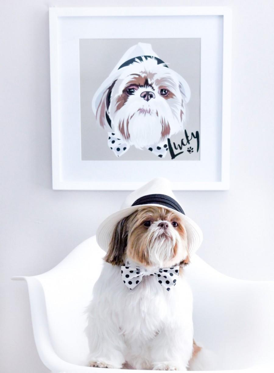 47b3278ebead Custom pet portrait, custom pet print, dog portrait, dog print, pet print, custom  pet print, pet art, dog art