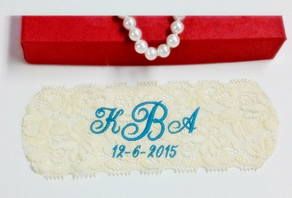 Wedding Dress Labels Embroidered