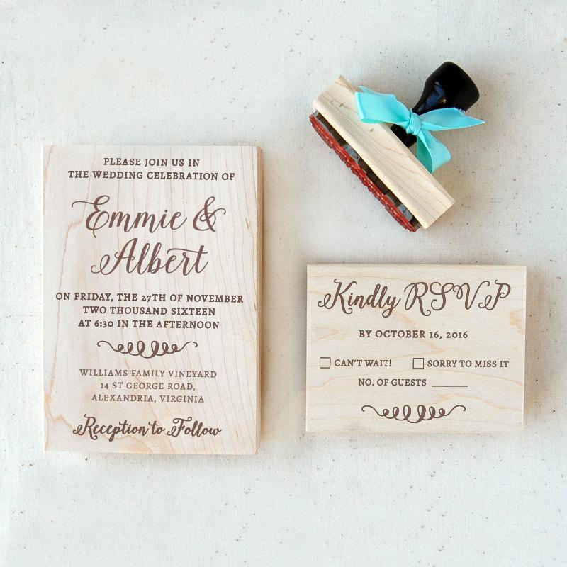 Wedding Invitation Stamp Suite #2