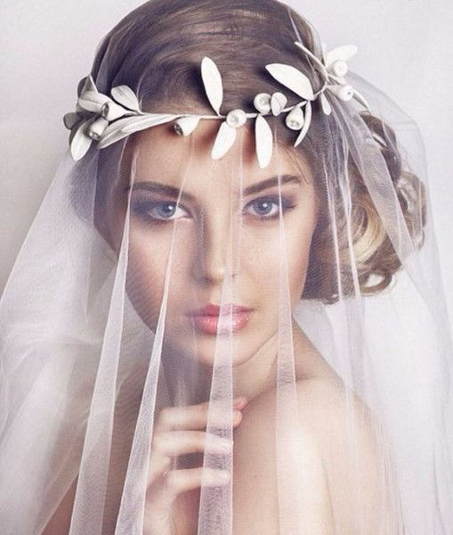Mariage - Bridal Leaf Crown