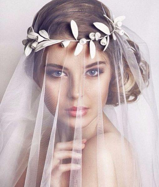 Свадьба - Bridal Leaf Crown