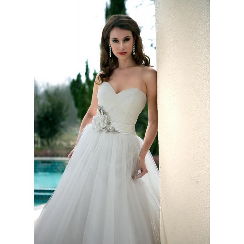 Wedding - Da Vinci 8445 Bridal Gown (2012) (DV12_8445BG) - Crazy Sale Formal Dresses