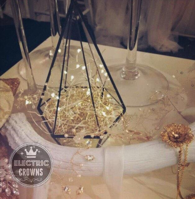 Wedding Decor Flameless Table