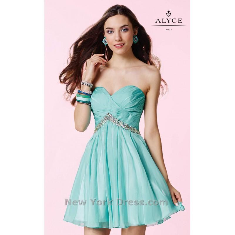 Hochzeit - Alyce 3670 - Charming Wedding Party Dresses