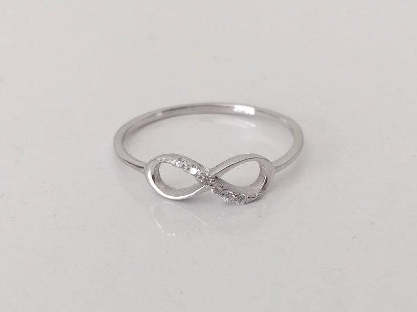 Mariage - Infinity Ring - Gold Infinity Ring - Fashion Ring - Silver Infinity Ring - Anniversary Gift - Bridesmaids Gift - Ring - mothers day gift