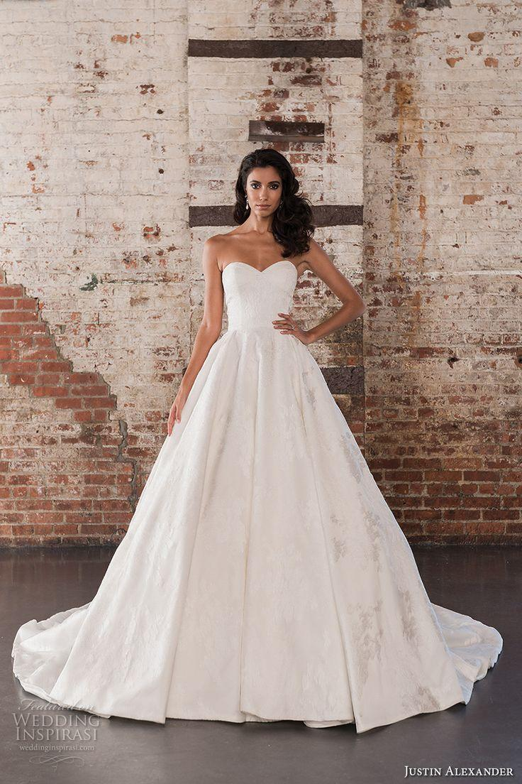 Justin alexander signature spring summer 2017 wedding for Spring wedding dresses 2017