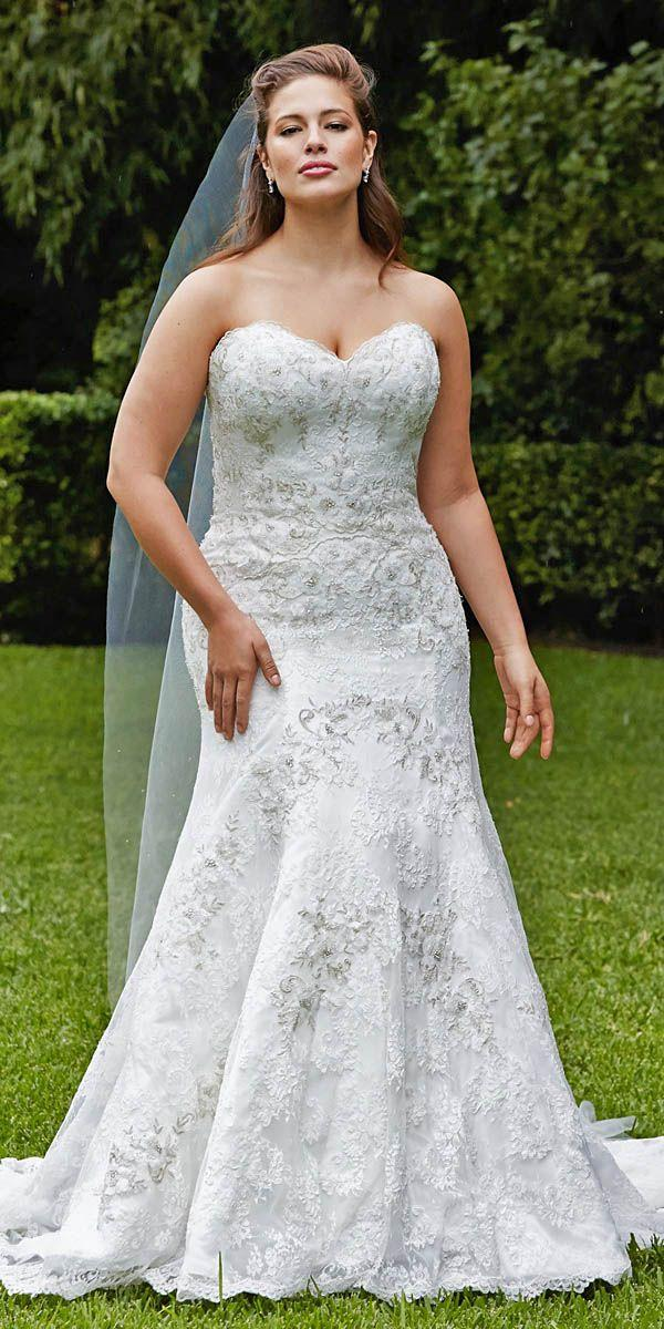 Wedding - 24 Plus-Size Wedding Dresses: A Jaw-Dropping Guide