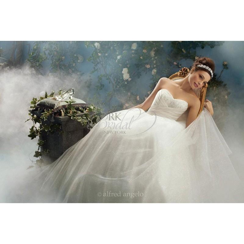 Wedding - Alfred Angelo Disney Fairy Tale Weddings- Style 205- Cinderella - Elegant Wedding Dresses