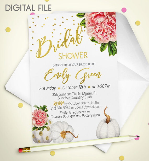 b6838d679a0 Bridal Shower Invitation Marsala Printable invite Bridal Shower Burgundy  Gold Foil Shower Invitation Wine pumpkin Bridal Shower Invite idb44