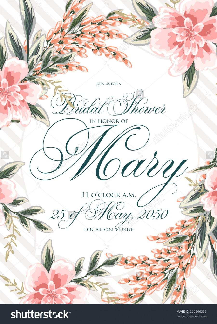 Свадьба - Bridal Shower Invitation