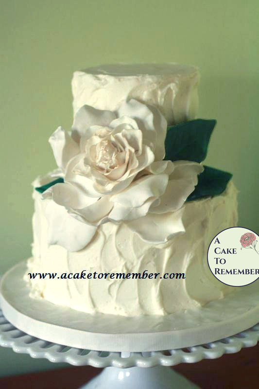 Mariage - Gumpaste Gardenia for Cake Decorating, edible flowers for cakes, sugar flower, flower for wedding cake topper, cake decorating