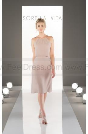 Düğün - Sorella Vita Illusion Sweetheart Neckline Bridesmaid Dress Style 8871