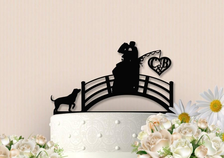 Hochzeit - Fishing Couple Cake Topper