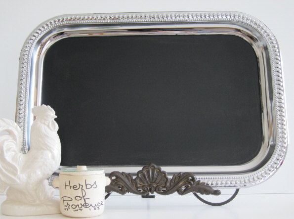 Hochzeit - Chalkboard WITH EASEL The ORIGINAL Rectangular Blackboard Chalkboard Bulletin Inspiration Summer Wedding