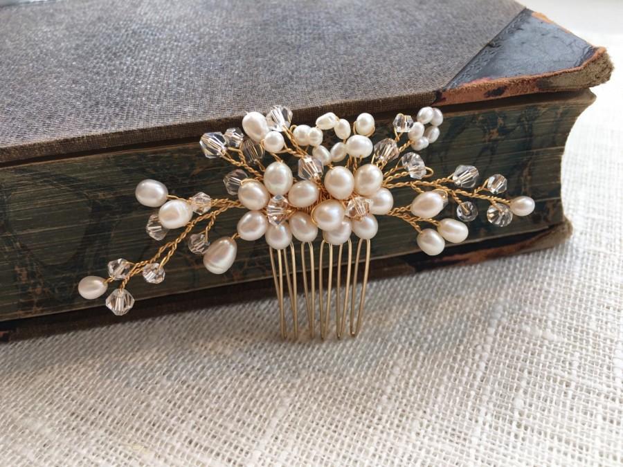 Свадьба - Bridal hair comb, wedding hair comb, bridal headpiece, bridal hair piece, bridal hair accessories, wedding comb, haircomb