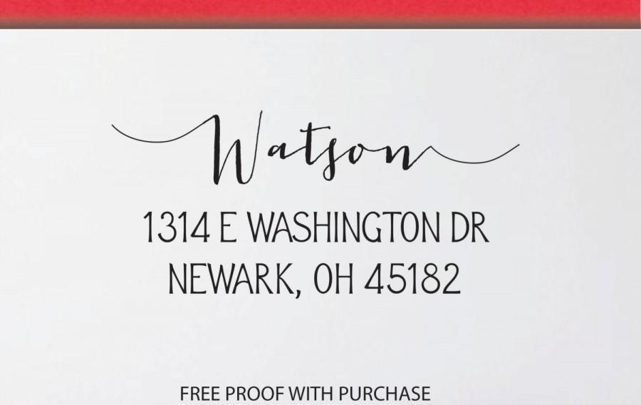 personalized return address stamp custom address stamp 8s
