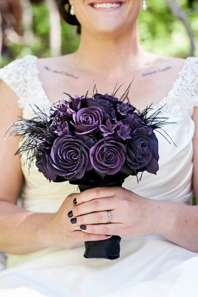 Свадьба - Gothic Wedding - Gothic Bouquet - Alternative Bouquet - Wedding Bouquet - Bridal Bouquet - Keepsake Bouquet - Heirloom Bouquet - Deposit