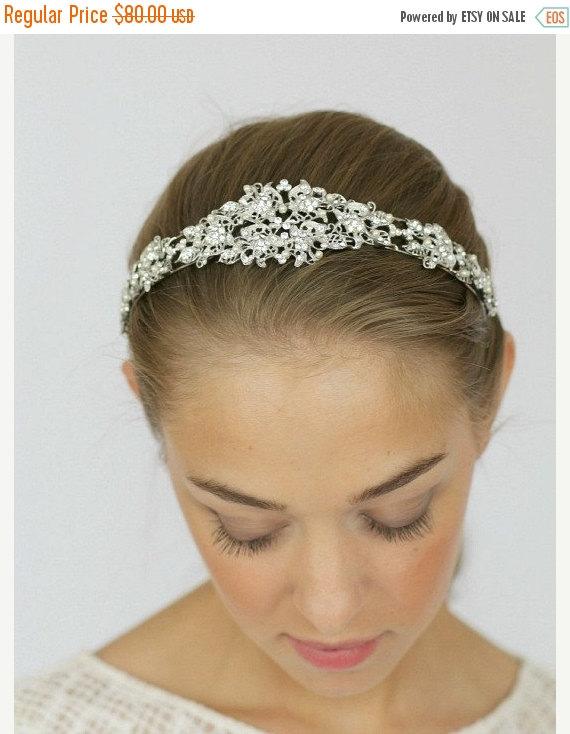 Свадьба - Bridal Headband, Bridal Accessories, Bridal Headpiece, Wedding Headband, Pearl Headband, Crystal Pearl Tiara , Bridal Headpiece