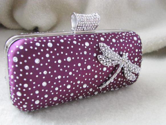 Свадьба - Purple bags and purses, bridal clutches, bride bridesmaid, formal purse, wedding, bridal bag, bridal purse, wedding clutch, bridal handbag