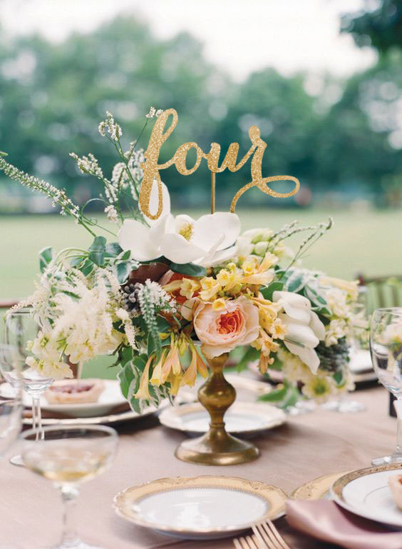 Mariage - Table Numbers, Wedding Table Number, Table Number, Bling Table Numbers, Numbers with Base, Gold Table Numbers, Gold Wedding, Script Wording