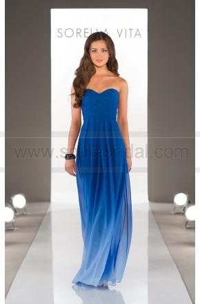 Wedding - Sorella Vita Blue Ombre Bridesmaid Dress Style 8405OM