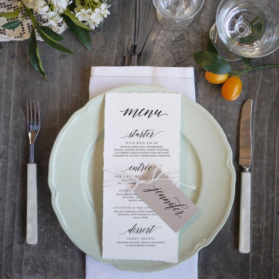 Mariage - Wedding Menu Template 10